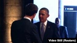 Presidente Barack Obama en Ámsterdam