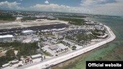 Vista aérea del Aeropuerto Internacional de Cayo Hueso