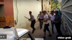 Tomado del Video: Denuncia: Abuso policial en Centro Habana