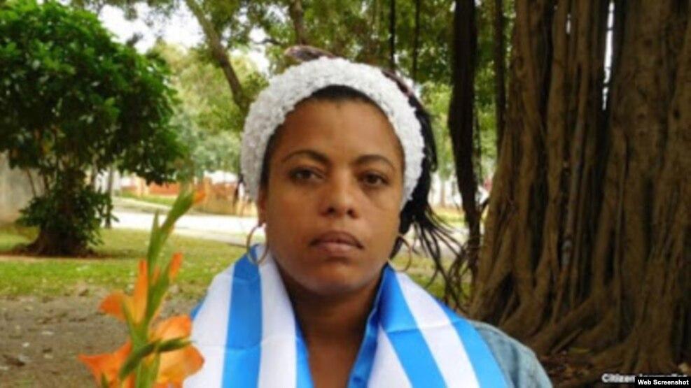 La Dama de Blanco y activista de UNPACU Jaqueline Heredia Morales.