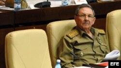 Raúl Castro el 28 de diciembre de 2007, en La Habana, en la Asamblea Nacional del Poder Popular.