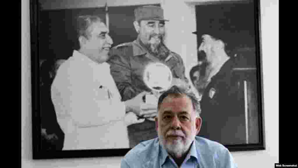 Francis Ford Coppola en la escuela internacional de cine de San Antonio
