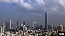 Vista del centro de la ciudad de Tel Aviv (Israel)