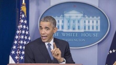 Barack Obama ofreció una conferencia de prensa sobre el restablecimiento de las relaciones con Cuba