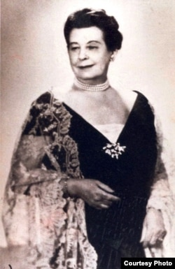 Renée Molina en 1948.