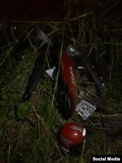 Según la policía local, Reyes Valverde perdió el control de la motocicleta que conducía. (Foto AF Noticias)