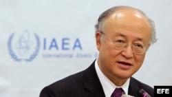El director general de la Organización Internacional de Energía Atómica (OIEA), Yukiya Amano.