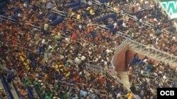 Estadio de pelota Miami Marlins.