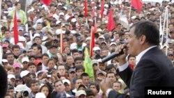 El presidente ecuatoriano Rafael Correa.