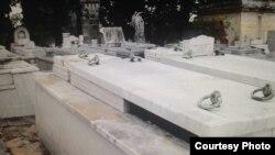 Robo y profanación en el Cementerio de Colón, en La Habana.
