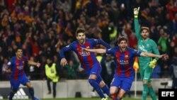 FC Barcelona venció al PSG.