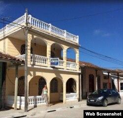 Hostal La Nena, una casa particular que renta a turistas en Caibarién.