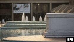 Imagen de la tumba de Martin Luther King y su mujer Coretta Scott King en Atlanta, Estados Unidos.