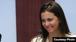 Maria Corina en CSIS
