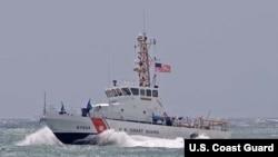 Escampavía Gannet de la Guardia Costera de Estados Unidos.