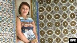 La escritora cubana Zoé Valdés en Sevilla