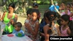 Policía impidió fiesta con niños en Guantánamo