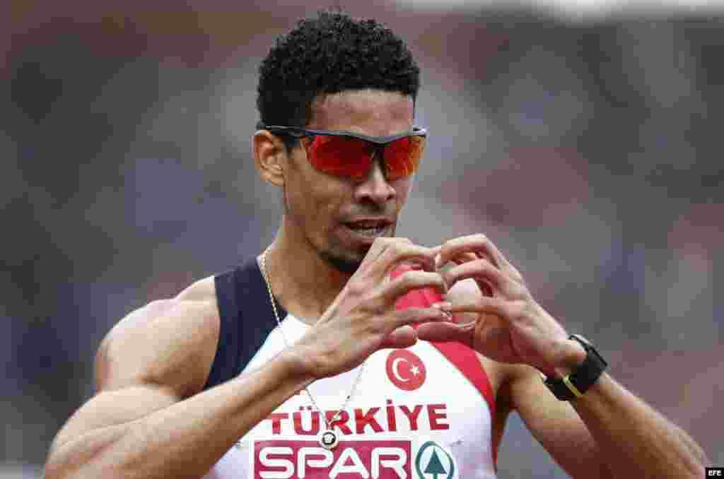 El corredor cubano de 400 metros con vallas, Yasmani Copello Escobar, representa a Turquía en los Juegos Olímpicos de Río de Janeiro.