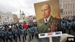 Protesta en San Petersburgo