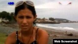 Evelis Montoya, joven cubana residente en Baracoa.