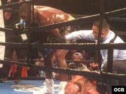 El King Kong cubano reta a Deontay Wilder, campeón de los súper pesados del CMB. Foto: Edemio Navas