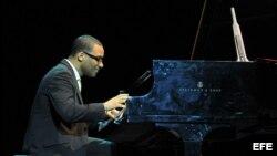 El pianista cubano Gonzalo Rubalcaba, radicado en EE.UU., fue uno de los concertistas en Voces de América Latina del Carnegie Hall.
