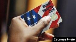 Tarjeta de débito de ayuda del Gobierno.