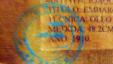 Sello falso de autenticidad de obras de arte cubano