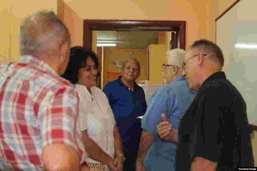 Prisioneros políticos de diferentes épocas estuvieron presente para recordar a Antonio Villarreal.