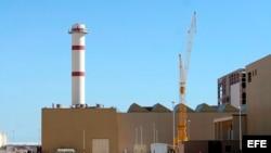 Fotografía de archivo de fecha 26 de febrero de la planta nuclear iraní en Bushehr, al sur de Irán.