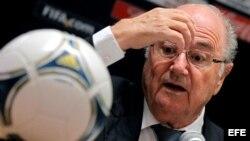 El presidente de la FIFA, Joseph Blatter, dijo que va a discutir el asunto con Cuba.
