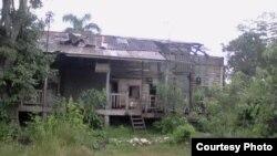 Condiciones de vida en asentamiento de Casa Blanca