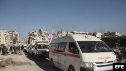 Suspendida la evacuación de personas del este de Alepo tras explosiones