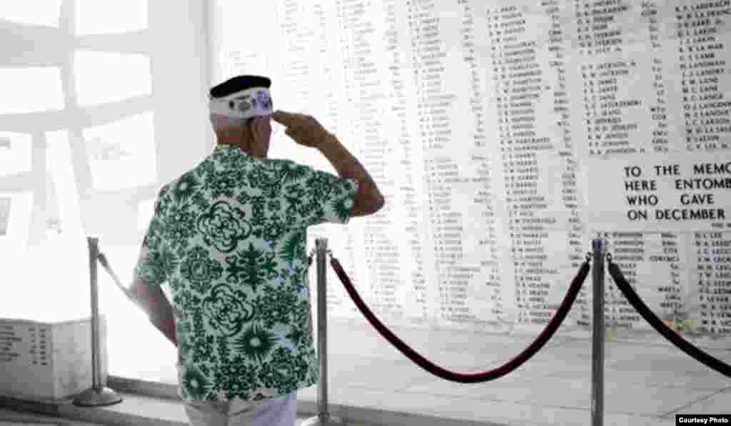 Homenaje a los caídos en el Día de Recordación (Memorial Day).