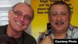 Amigos entrañables:Carlos Averhoff (i) y Paquito D'Rivera