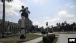 Protestan contra el gobierno de Raúl Castro este viernes en el Parque de la Fraternidad