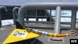 Equipo de búsqueda del avión malasio perdido en el Océano Índico