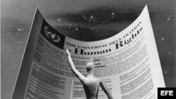 Declaración Universal de los Derechos Humanos adoptada por la Asamblea General de la ONU el 10 de diciembre de 1948.