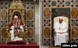 Lo que va de un papa al otro: Francisco introdujo la austeridad en el Papado.