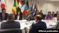 VIII Ronda de Conversaciones Migratorias entre las Repúblicas de Ecuador y Cuba. Foto Cancillería Ecuatoriana