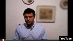 Mensaje de Leopoldo López distribuido por Youtube