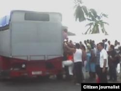 Reporta Cuba transporte Palma Soriano Foto Geordanis Muñoz