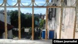 Reporta Cuba. Asedio a la sede de UNPACU (8 de febrero, 2016). Foto: Rafael Molina.
