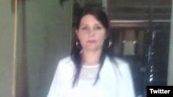 Yaimaris Vecino Leyva, médico y esposa de Eduardo Cardet, preso político condenado a tres años de cárcel en Cuba