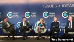 El Comité de Chicago para las relaciones globales.