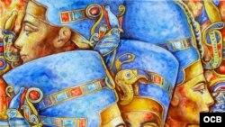 Beatriz Ramírez, arte egipcio y Vírgenes