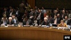 El Consejo de Seguridad de Naciones Unidas en sesión sobre el caso de Crimea.