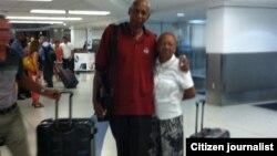 Guillermo Fariñas llega a Miami
