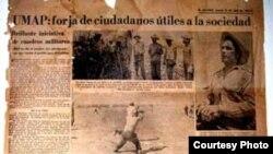 Las UMAP según la prensa oficial cubana