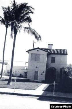 Casa de Juan Ramón Jiménez en Coral Gables. Foto tomada por Ana Rosa Nuñez